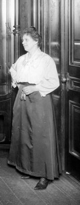 Housekeeper in the early 1900s