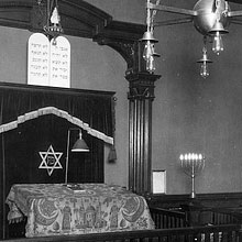 Historic view of synagogue